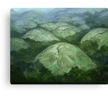 Domed Hills Canvas Print