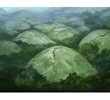 Domed Hills Photographic Print