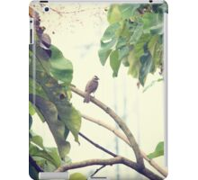 Lonely Bird in the Morning iPad Case/Skin