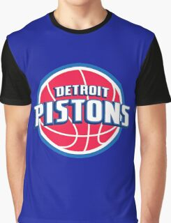 Detroit Pistons Graphic T-Shirt