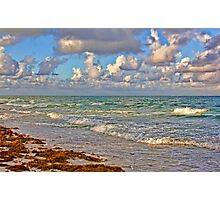 Morning On The Gulf Photographic Print