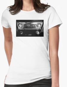 Rocking the Radio - Old School Womens Fitted T-Shirt