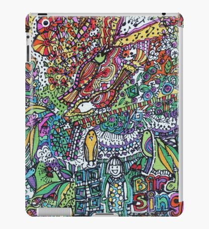 Birds Sing - Kerry Beazley iPad Case/Skin