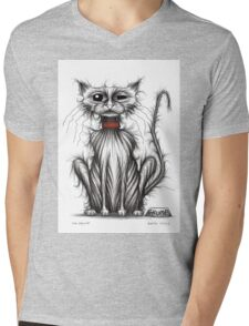 Mr Grump Mens V-Neck T-Shirt