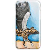 African Simurgh - AWD/Secretary bird iPhone Case/Skin