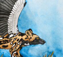 African Simurgh - AWD/Secretary bird Sticker
