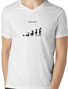 Snevolution Mens V-Neck T-Shirt