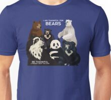I Am Thankful For Bears Unisex T-Shirt