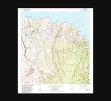 USGS TOPO Map Hawaii HI Haiku 349236 1983 24000 Unisex T-Shirt