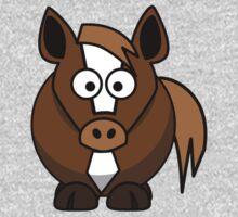Cartoon Horse Kids Tee