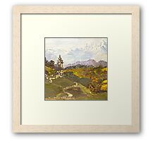 Alpine Autumn Framed Print