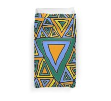 Litter Of Triangles Duvet Cover