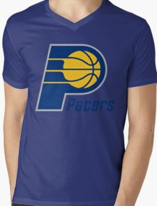 Indiana Pacers Mens V-Neck T-Shirt