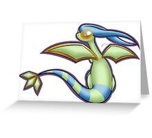Pokemon - Flygon (Shiny) Greeting Card
