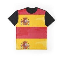 Spanish Flag - Block design (modern art colours) Graphic T-Shirt