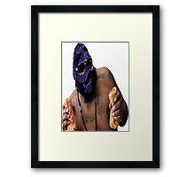 Grim Ross Framed Print