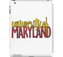 University of Maryland Two-tone iPad Case/Skin