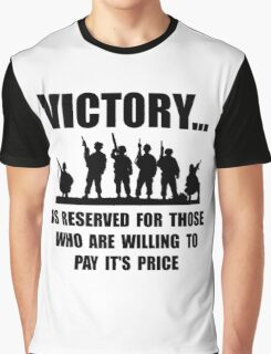 Victory Military Graphic T-Shirt