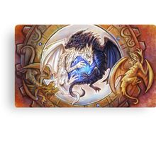 Gem Dragons Canvas Print
