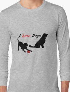Cute Dogs Long Sleeve T-Shirt