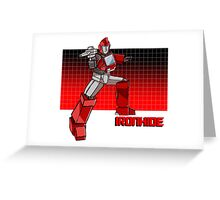 Transformers Ironhide Greeting Card