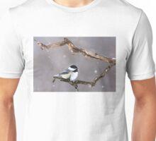 Black-capped Chickadee Unisex T-Shirt
