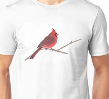 Northern Cardinal Unisex T-Shirt