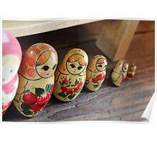The Cheeky Nesting Doll Poster