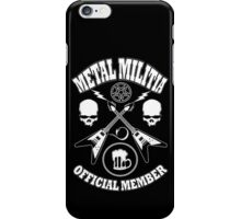 Metal Militia iPhone Case/Skin