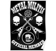 Metal Militia Poster
