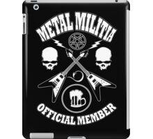 Metal Militia iPad Case/Skin