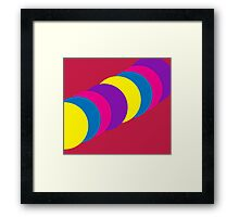 The Happy Gumball Collection - Magenta Framed Print