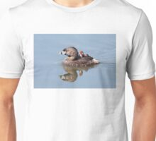 """Mom!...Timmy won't move over!"" Pied-billed grebes Unisex T-Shirt"