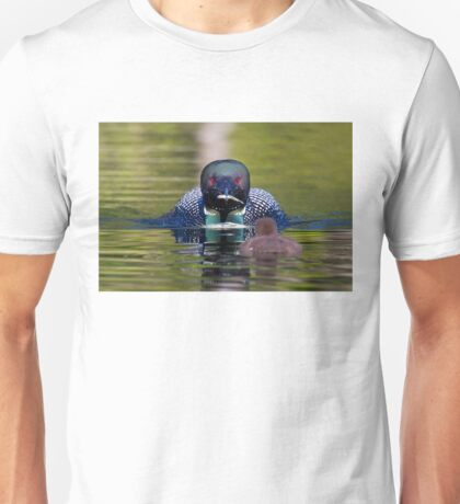 Take-out finally arrives - Common Loon - Buck Lake, Ontario T-Shirt