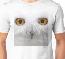 Snowy Eyes - Snowy Owl Unisex T-Shirt