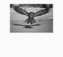 Great Grey Owl B&W Unisex T-Shirt