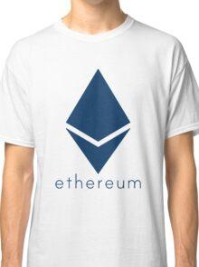 Ethereum Blue (Flat) Classic T-Shirt