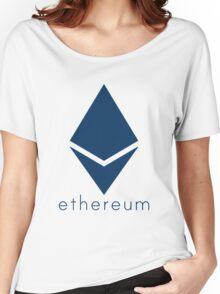 Ethereum Blue (Flat) Women's Relaxed Fit T-Shirt
