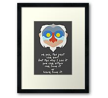 Rafiki quote Framed Print