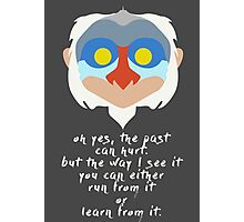 Rafiki quote Photographic Print