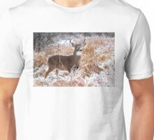 A Regal Stance - White-tailed Buck Unisex T-Shirt