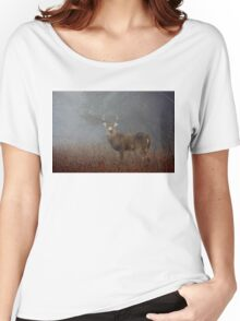 Big Buck - White-tailed deer Women's Relaxed Fit T-Shirt