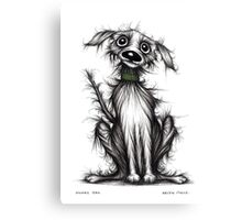 Mucky tail Canvas Print