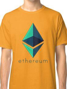 Ethereum metalic green  Classic T-Shirt