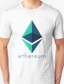 Ethereum metalic green  Unisex T-Shirt