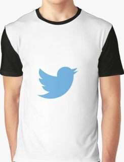 Twitter logo Graphic T-Shirt