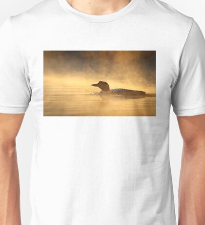 Into the Mist - Common Loon T-Shirt