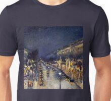 Camille Pissarro City at Night Unisex T-Shirt