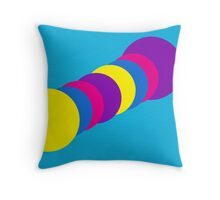 The Happy Gumball Collection - Blue Dude Throw Pillow