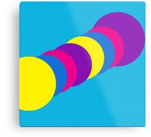 The Happy Gumball Collection - Blue Dude Metal Print